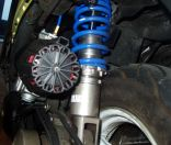 coilover adjustable scooter suspension