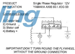 reg_wiring_2ja regulator rectifier 4 pin suzuki, yamaha 50 90cc 4 pin regulator rectifier wiring diagram at bakdesigns.co