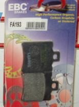 Disc brake pads Yamaha