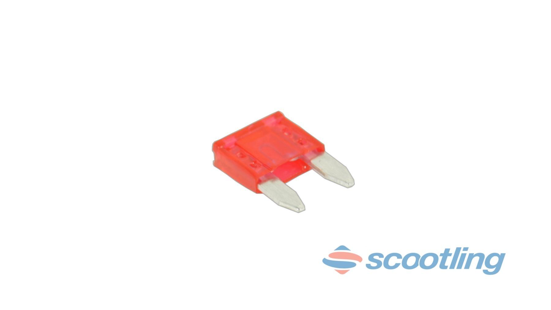 Small spade terminal (blade) fuse 10A
