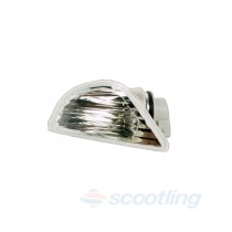 Vespa indicator lens reflector body assembly