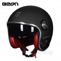 matte black beon custom helmet