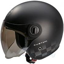 gloss black beon custom helmet