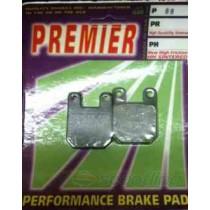 Premier brake pads suit Piaggio, Gilera, Italjet etc