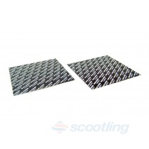 carbon fibre sheet petal reed cutting cutout