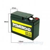 poweroad cyg4abs battery suit honda