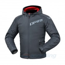 Dririder Atomic Hoody Summer Jacket - Black