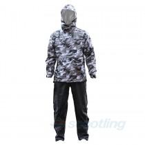Givi 2 piece rain suit camo front