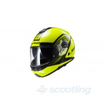 LS2 Strobe Civik Fluoro yellow/black helmet NZ