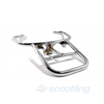 Rear carry rack chrome Vespa LX50-150