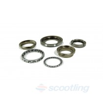 Bearing set, steering stem Piaggio/Vespa/Gilera
