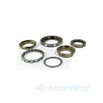 Bearing set, steering stem Piaggio/Vespa/Gilera