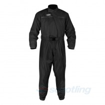 Oxford waterproof onesie rain suit scooter motorcycle black
