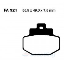 brake pad GTS vespa rear