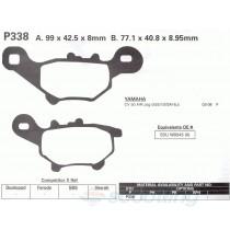 Brake pads for Yamaha Jog CV50 / 5SU