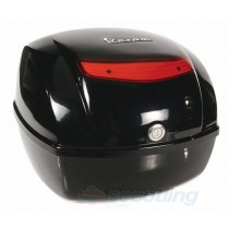 32L top box vespa OEM black grafite