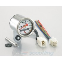 Mini-mini analogue Speedometer LED Backlight