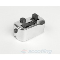 Switch unit horn/lights smallframe, chrome