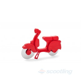 gift - scooter pizza cutter red