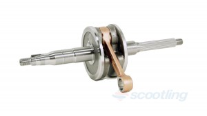 crank shaft adly 2t 50 yamaha rt-50 sf-50 gatecrasher