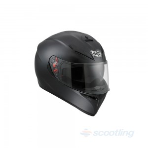 AGV full face helmet K3-SV Satin Black auckland NZ