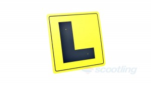 Learner L-plate